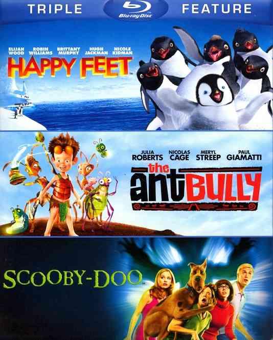HAPPY FEET/ANT BULLY/SCOOBY DOO:MOVIE BY LILLARD,MATTHEW (Blu-Ray)
