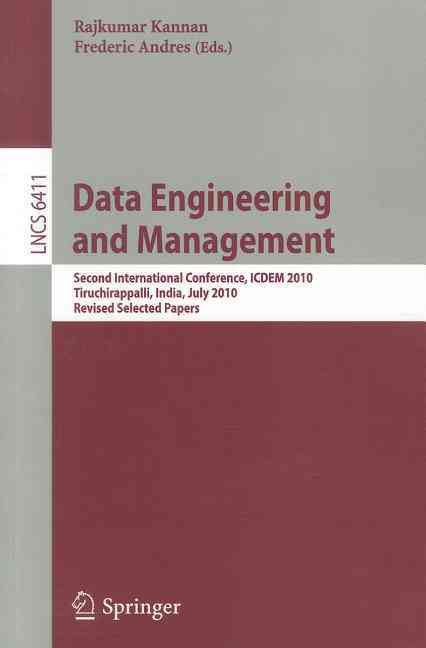 Data Engineering and Management By Kannan, Rajkumar (EDT)/ Andres, Frederic (EDT)